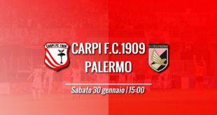 Streaming live Carpi-Palermo Rojadirecta 22a giornata di Serie A oggi, diretta tv Mediaset Premium e Sky Go