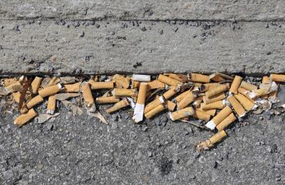 Multe salate per mozziconi di sigarette e scontrini per terra dal 2 febbraio