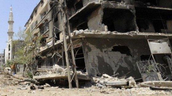 esplosione Damasco