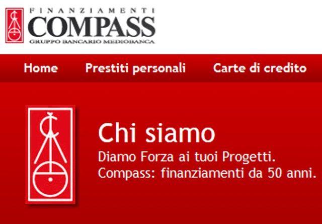 Prestiti Personali Compass Dicembre 2016