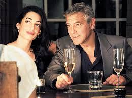 George Clooney e Amal Alamuddin non accettati al ristorante italiano